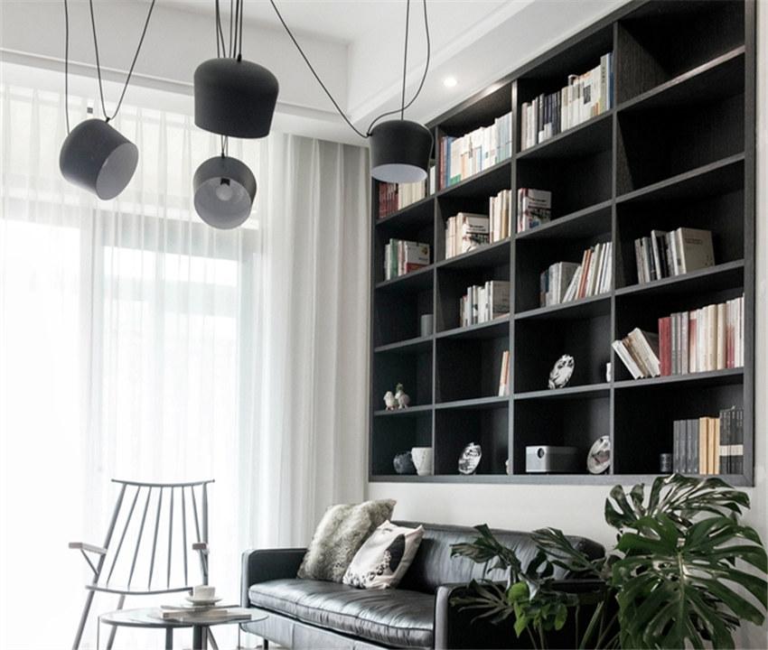 89m²北欧小宅设计,太原装修,装修效果图