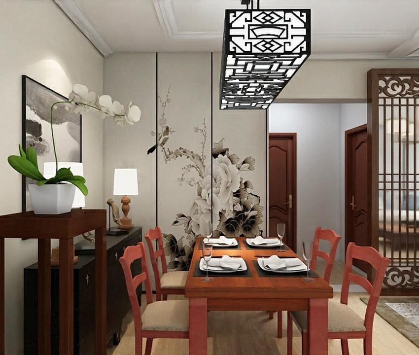 太原装饰:中式风格案例:中正·锦城132.57㎡