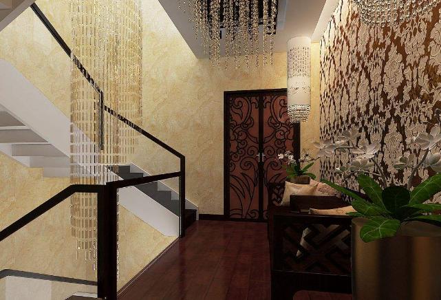 东南亚风格装修楼梯