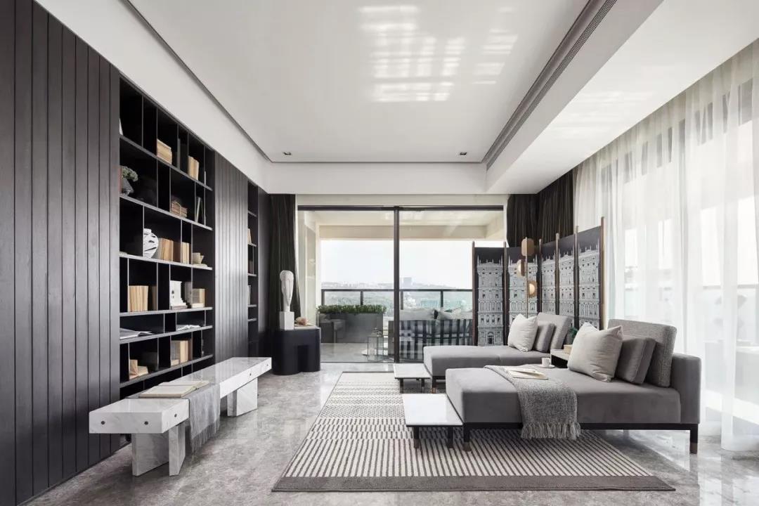 太原赞城126平米现代简约风格