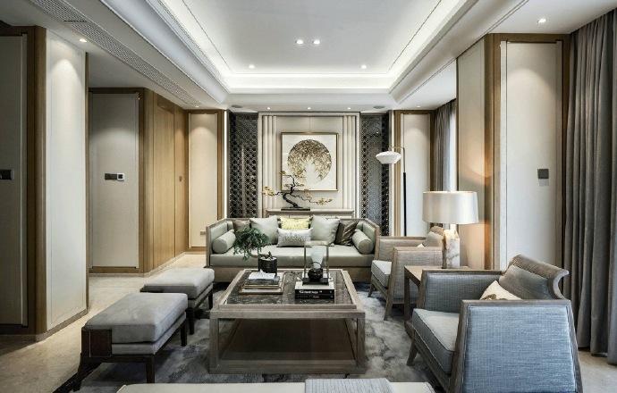 本案例在設計時選擇色彩時偏明亮一些,沒有選擇深色的木條以及家具,整體家中顯明亮!