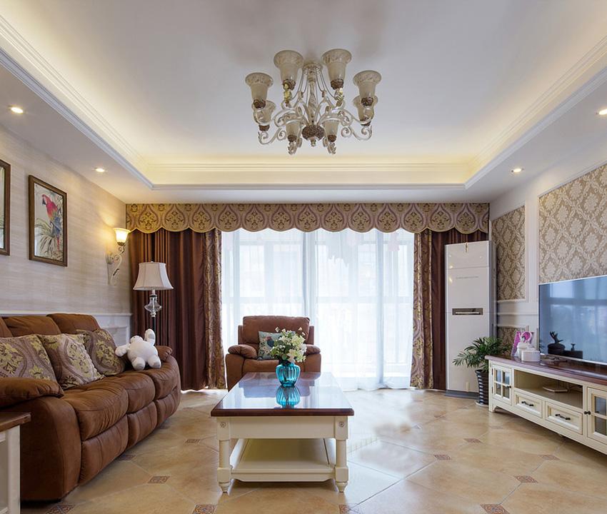 整个空间以明亮、素雅、温馨的感觉为主,强调家的感觉;