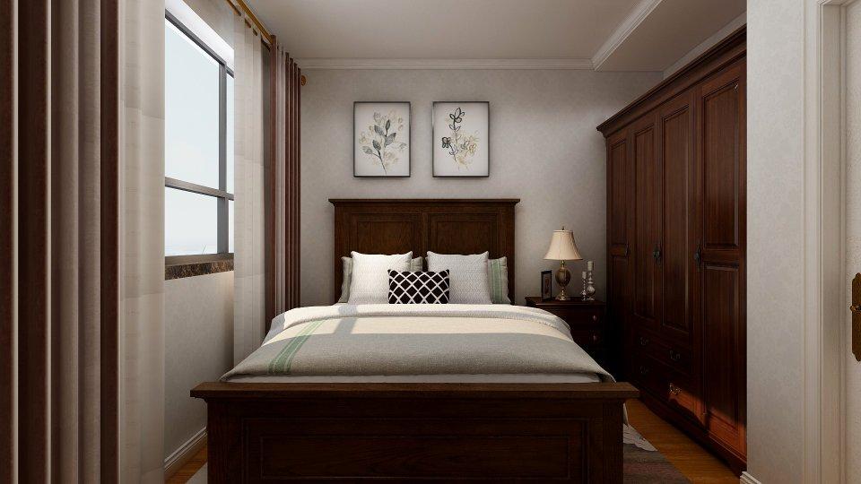 太原一家一装饰装修——富力八号园121㎡复古美式风格