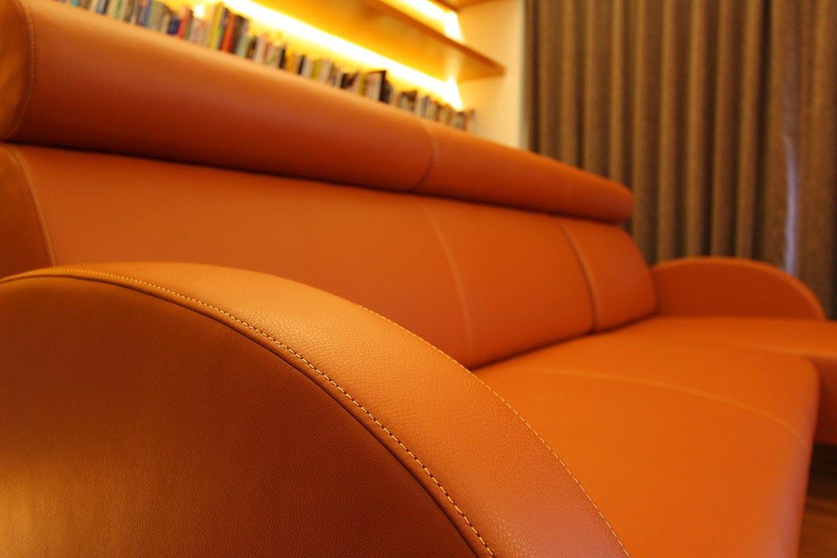 房屋装修中皮沙发的种类