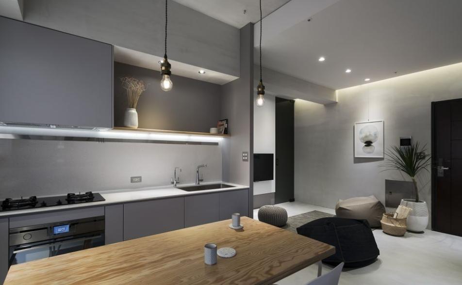 厨房的间接照明