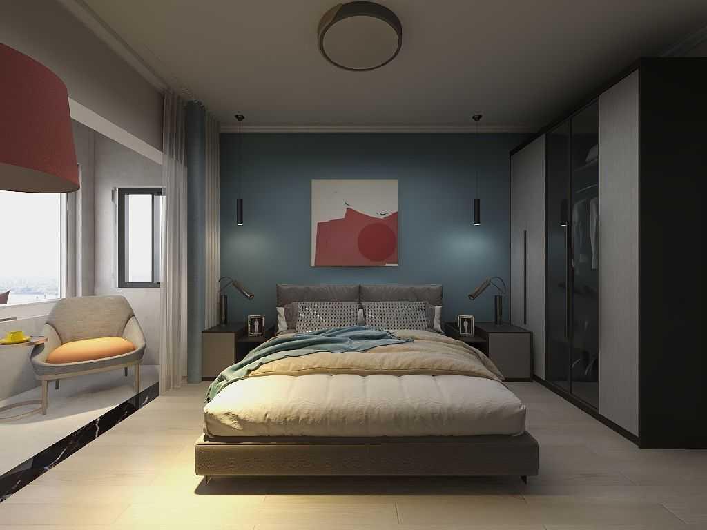 千度東山晴三室兩廳兩衛現代簡約風格