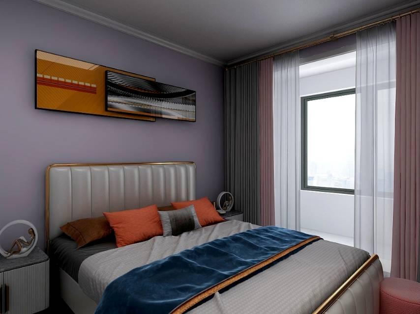 金山九龍灣三室兩廳兩衛現代簡約風格