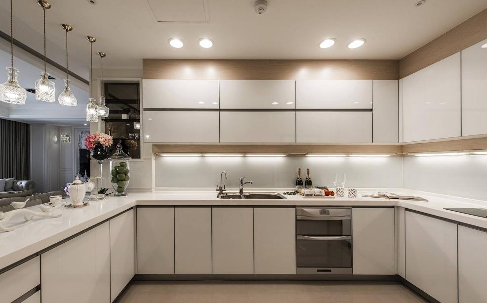 厨房餐厅装修的时候家具和用品怎么去摆放