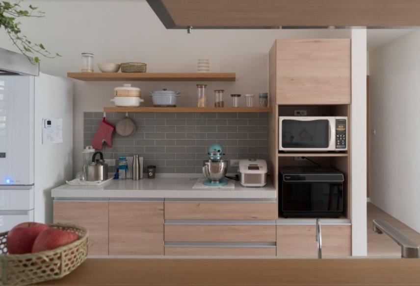 厨房装修电器柜