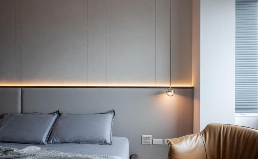 太原卧室装修床头灯设计