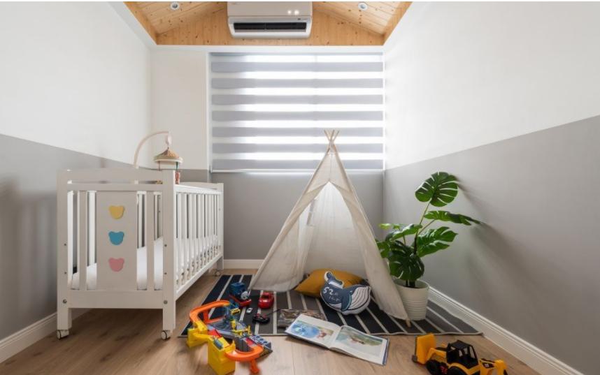 太原儿童房装修成长空间