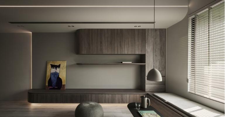 太原小平米装修曲线造型的家具