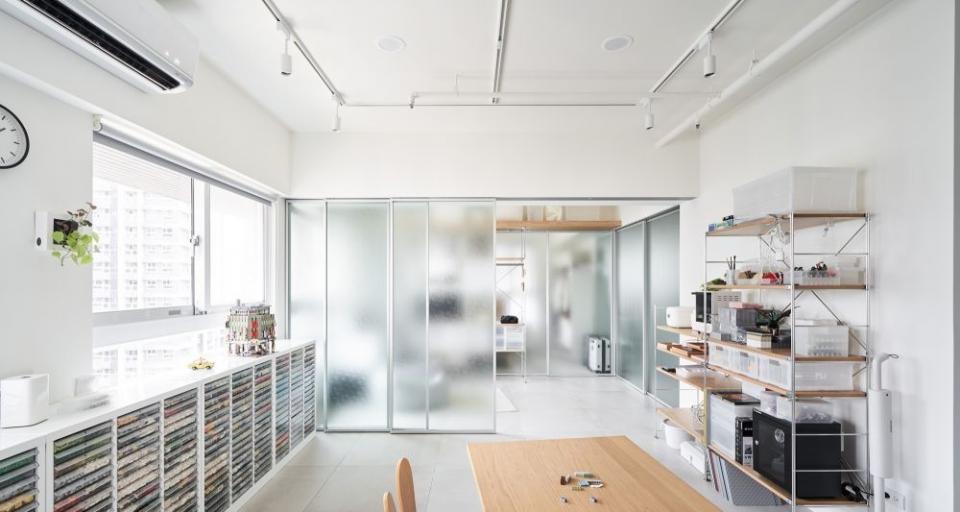 房屋装修玻璃隔间怎么设计
