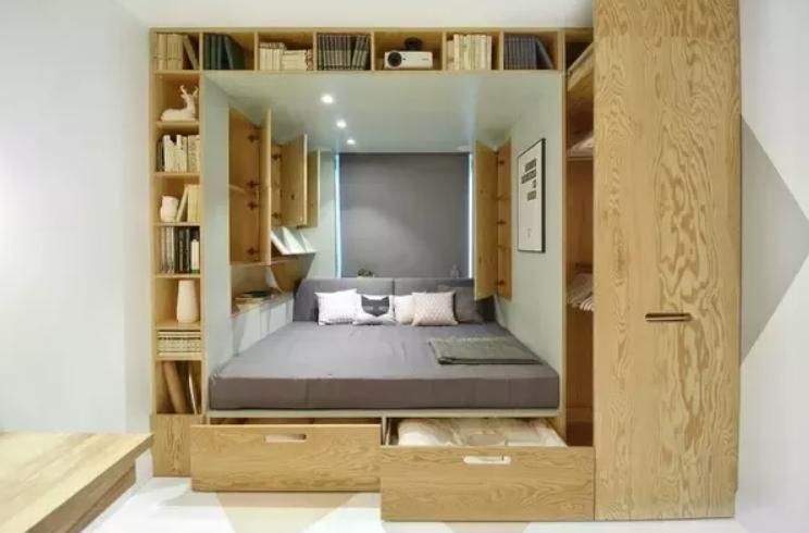 卧室存储空间