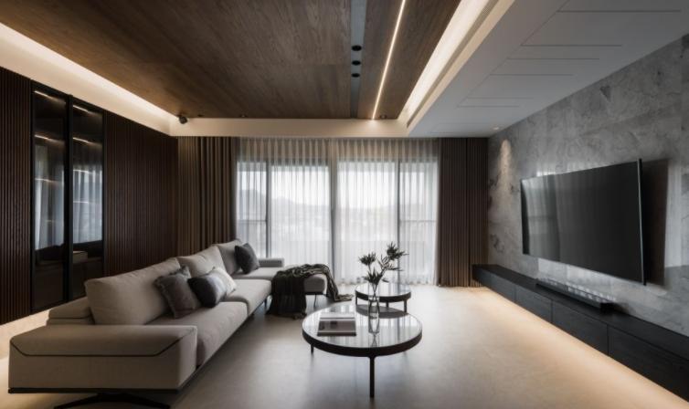 客厅灯光设计案例